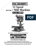 12 Speed Drill / Mill Machine Model 42976