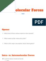 intermolecular forces slide presentation