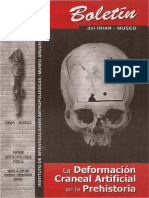 Boletin INIAM Nº26 La Deformación Craneal Artificial en La Prehistoria