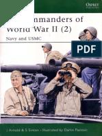 (Osprey ELITE SERIES )      087 - U.S. Commanders of World War II (2). Navy and USMC.pdf