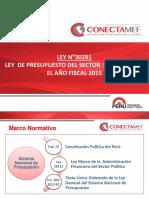 Presentacion Ley de Presupuesto - Enero 2015
