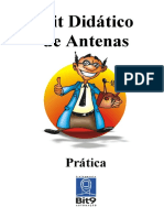 Kit Didático de Antenas - Práticas