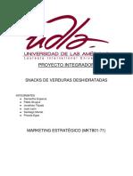 Marketing Estrátegico - Proyecto Final