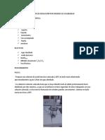 Determinación Del Calor de Disolución Por Medidas de Solubilidad