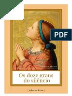 Os Doze Graus Do Silêncio