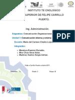 Comunicacion Organizacional. Roanldo Mendoza.u3[1]
