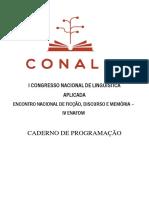 Caderno de Programação - I CONALA