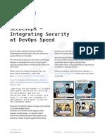 Cheat Sheet SecDevOps Integrating Security at Devops Speed