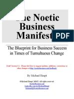 Noetic Business Manifesto