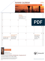 04-April, Gilbert-SanTan Training Calendar