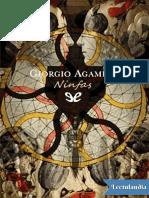 Ninfas - Giorgio Agamben
