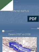 BUMA Turning Radius