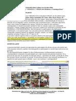 Relatorio Mais Cultura nas Escolas 2014 - Primeira Etapa do projeto