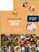 all natural nyc business plan 2018-19