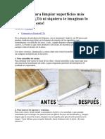 10 trucos para limpiar superficies más.docx