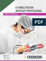 Temario Examen de Habilitación Para El Ejercicio Profesional Carrera de Odontología