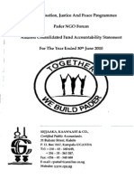 Pader NGO Forum Audit Report Year Ended 30th Jun 2010