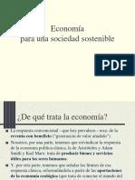 Economc3ada Para Una Sociedad Sostenible