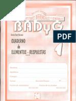 Badyg-cuaderno de Elementos y Respuestas