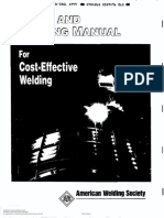 Design and Planning Manual for Cost-Effective Welding