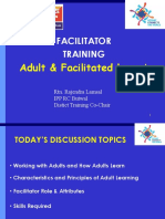 Faciliated Adult Learning