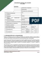 Optativa 1 2018-2019 - Patología de La Construcción