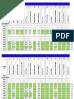 Status Tracking Sheet Format