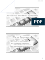 3.1Networks and Their Dynamics