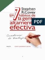 7 Habitos Cuaderno de Trabajo