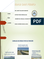 Canales,Acueductos y Sifones - Pardo