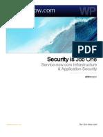 Security is job one - SaaS