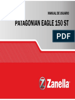 Patagonian Eagle 150st Manual