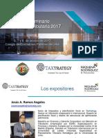 17.02.21 Reforma Tributaria 2017 Jesus Ramos
