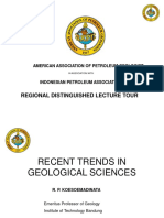 Recent Trends in Geological Sciences