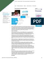 Situacion de la Primera Infancia en el Peru