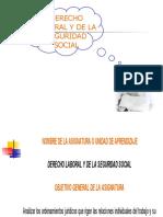 Derecho Laboral y de La s. Social Lae Escolarizado 08-1