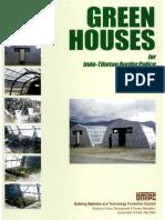Green Houses for ITBP at LehAtt
