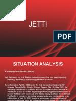 Jetti Marketing PLan Ppt