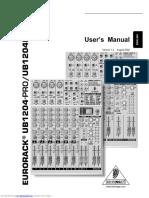 ub1204pro user manual