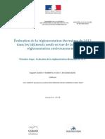 Évaluation de la réglementation thermique de 2012 dans les bâtiments neufs en vue de la prochaine réglementation environnementale