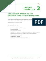 Tema 2 - Utilización Básica de Los Sistemas Operativos Habituales