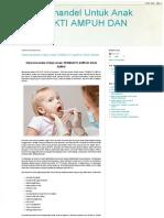 Obat Untuk Amandel Pada Anak Yang Ampuh Dan Aman