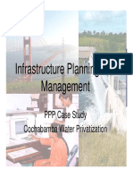 Class 16 - PPP Case Study - Cochabamba water privatisation.pdf
