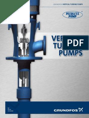LVTSL004 Grundfos_Peerless VT Pump Brochure | Bearing