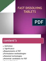 09082013073344 Fast Dissolving Tablets