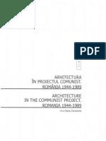 Arhitectura in Proiectul Comunist