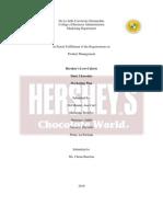 Hershey's Marketing Plan