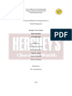 Hershey's Marketing Plan