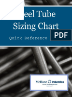 Steel Tube Sizing Chart Quick Reference Guide 4