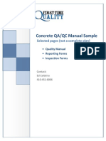 5.2.7.4 Concrete Contractor Control Plan